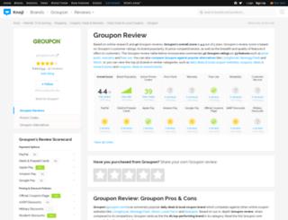 groupon.knoji.com screenshot