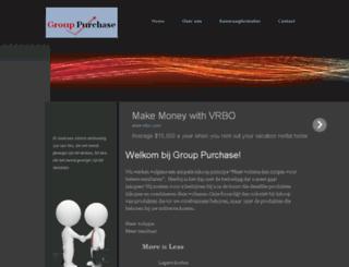 grouppurchase.nl screenshot