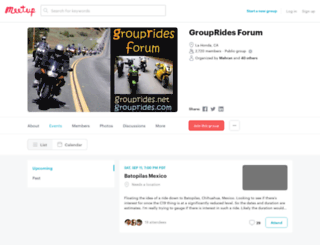 groupridesforum.net screenshot