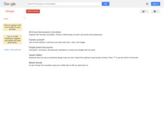 groups.google.pt screenshot
