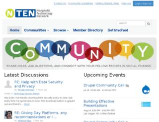 groups.nten.org screenshot
