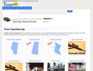 groups.townpost.ca screenshot