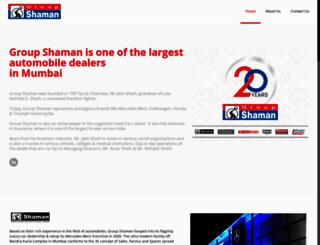 groupshaman.com screenshot