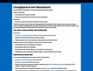groupspaces.com screenshot