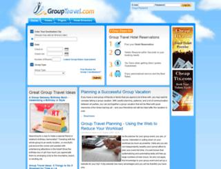 grouptravel.com screenshot