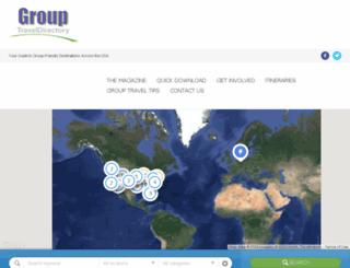 grouptraveldirectory.com screenshot