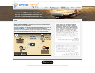 grouptraveltech.com screenshot