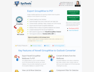 groupwiseoutlook.com screenshot