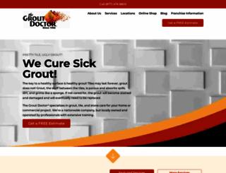groutdoctor.com screenshot