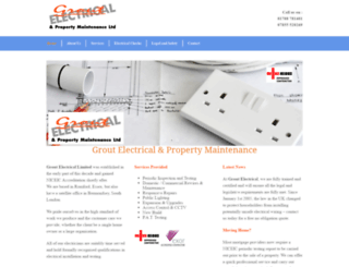 groutelectrical.co.uk screenshot