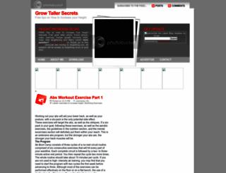 grow-taller-secret.blogspot.com screenshot