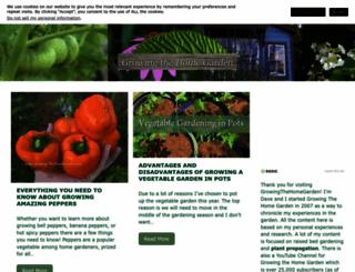 growingthehomegarden.com screenshot