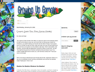 growingupgamers.blogspot.co.il screenshot