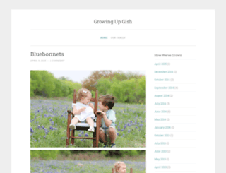 growingupgish.com screenshot