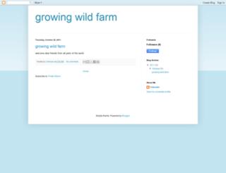 growingwildfarm.blogspot.com screenshot