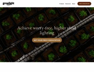 growlightsupply.com screenshot
