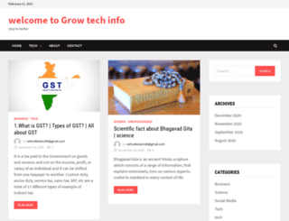 growtechinfo.com screenshot