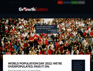 growthbusters.org screenshot