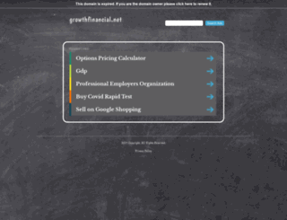 growthfinancial.net screenshot