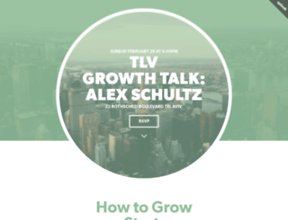 growthtalk.splashthat.com screenshot