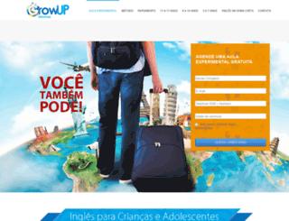 growupidiomas.com screenshot