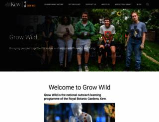 growwilduk.com screenshot