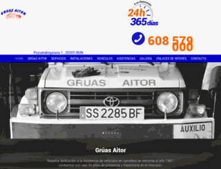 gruasaitor.com screenshot
