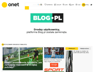 grubaskawmalymmiescie.blog.pl screenshot
