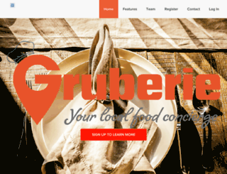 gruberie.com screenshot