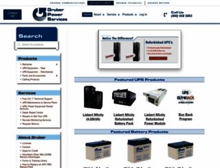 gruberpower.com screenshot