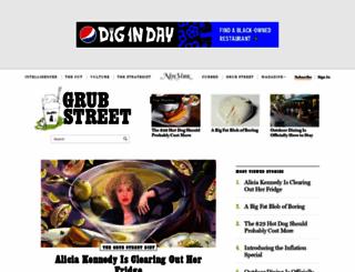 grubstreet.com screenshot