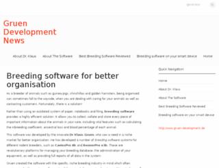 gruen-development.com screenshot