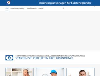 gruenderplan.de screenshot