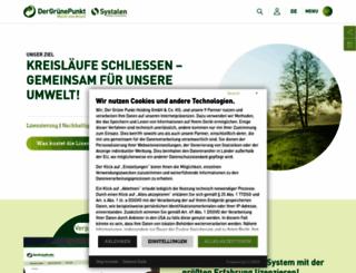 gruener-punkt.de screenshot