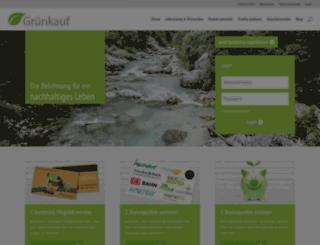 gruenkauf.de screenshot
