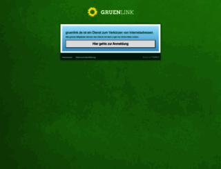 gruenlink.de screenshot