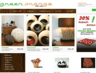 gruenorange.de screenshot