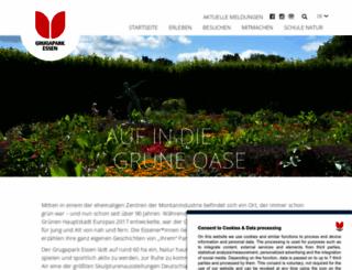 grugapark.de screenshot