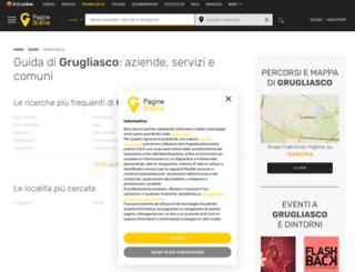grugliasco.paginegialle.it screenshot