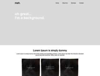 grumpy-web-exercise.bitballoon.com screenshot