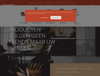 grundig.nl screenshot