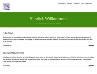 grundschule-geweke.de screenshot