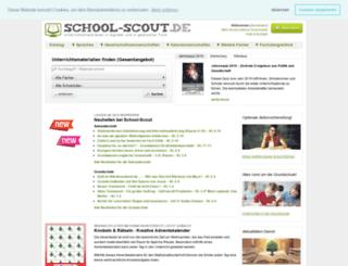 grundschule.school-scout.de screenshot