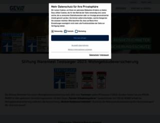grundvers-direkt.de screenshot