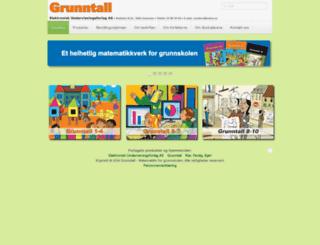 grunntall.no screenshot