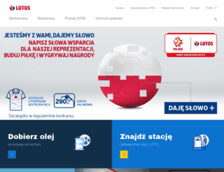 grupalotos.pl screenshot