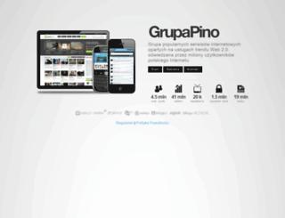 grupapino.pl screenshot