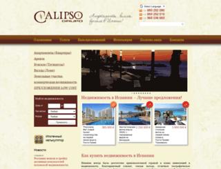grupo-calipso.com screenshot
