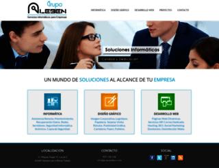 grupoaleben.com screenshot