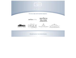 grupoaries.com.ar screenshot